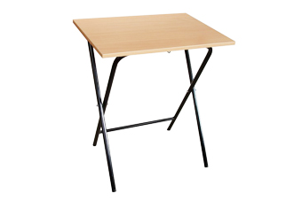 folded exam school desk